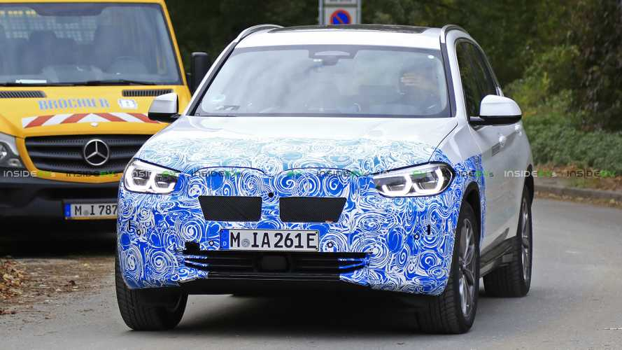 BMW iX3 Captured From All Angles In New Spy Shots
