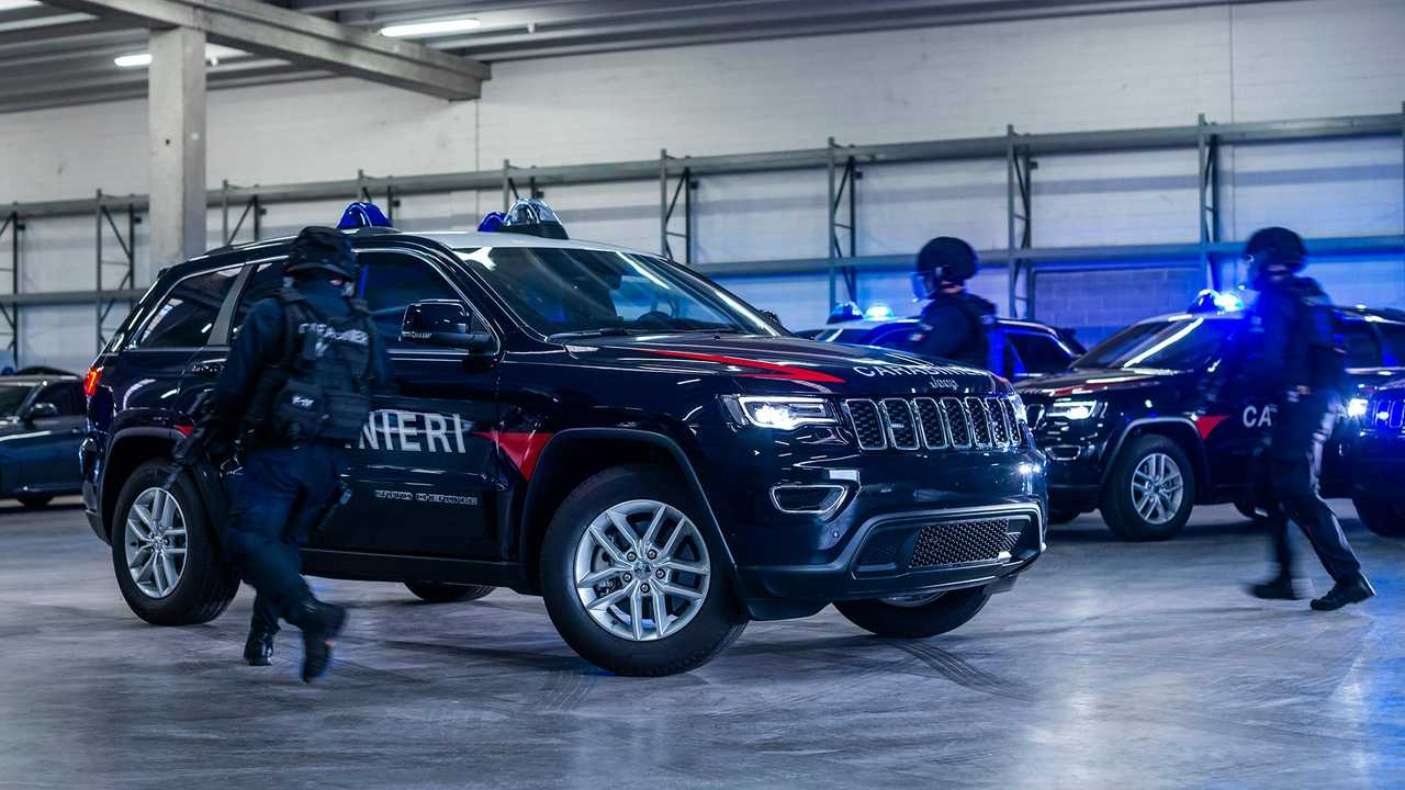 Armored Jeep Grand Cherokees Begin Law Enforcement Service In Italy