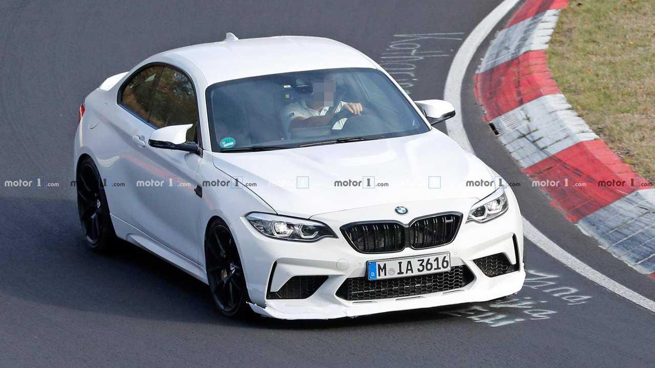 BMW M2 CS CSL Spy Shots