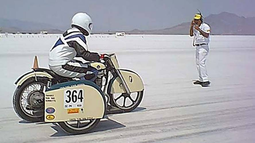 That Time a Ural Set a Land Speed Record at Bonneville