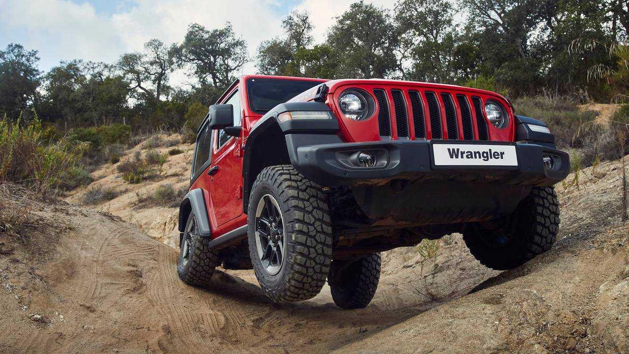 Jeep Wrangler MY19