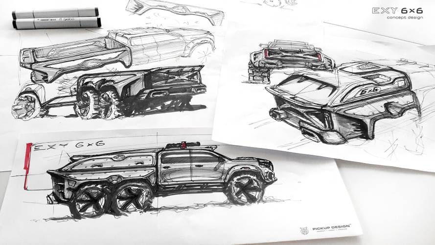 Mercedes-Benz Classe X 6x6 by Carlex Design