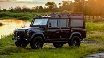Project Evolution: Land Rover Defender con motor de Corvette