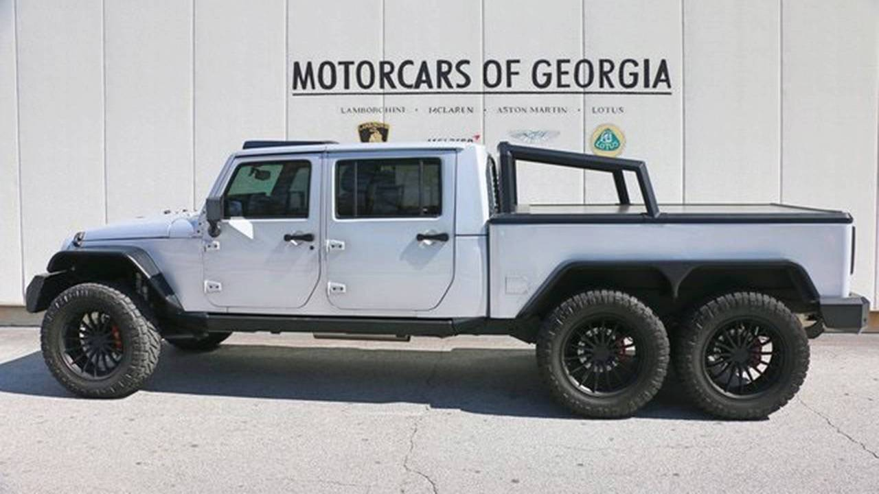 Southern Off Road Jeep Wrangler 6X6