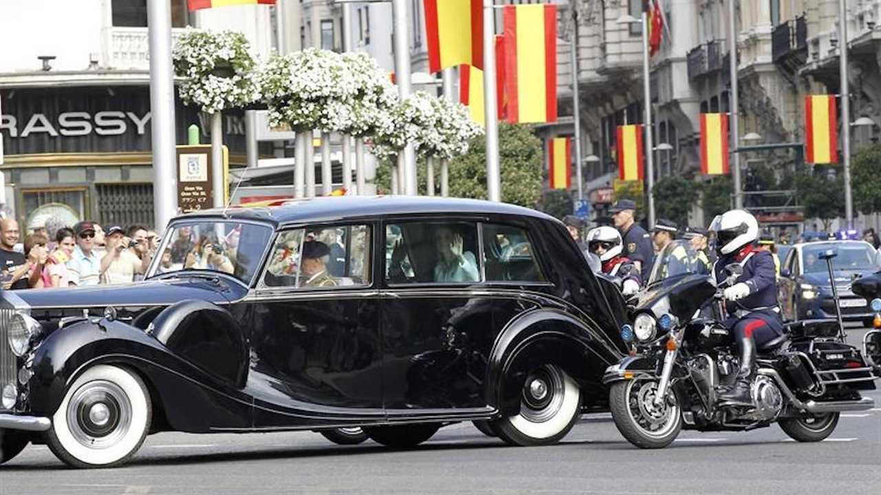 König Felipe VI. (Spanien): Rolls-Royce Phantom VI Cabriolet