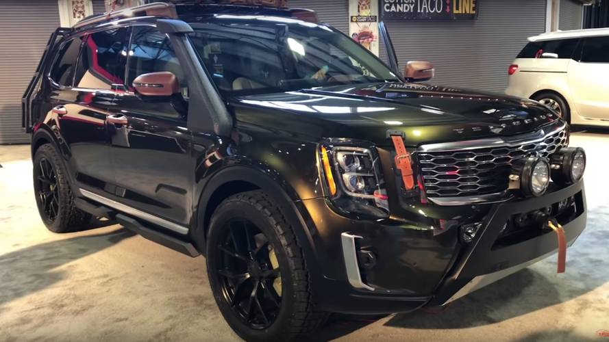 2020 Kia Telluride Detailed On Walkaround Video