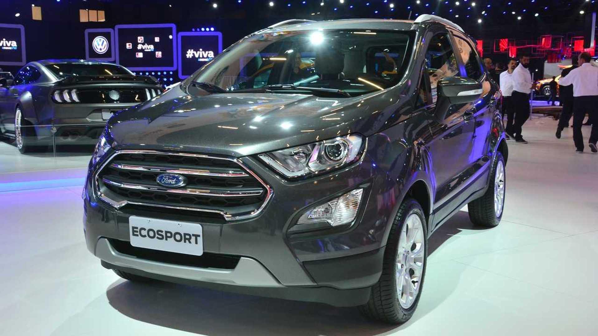 Salão de SP: Ford EcoSport ganha versão sem estepe na traseira Ford-ecosport-titanium-salao-do-automovel