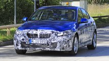 BMW 1 Series Sedan facelift spy photos