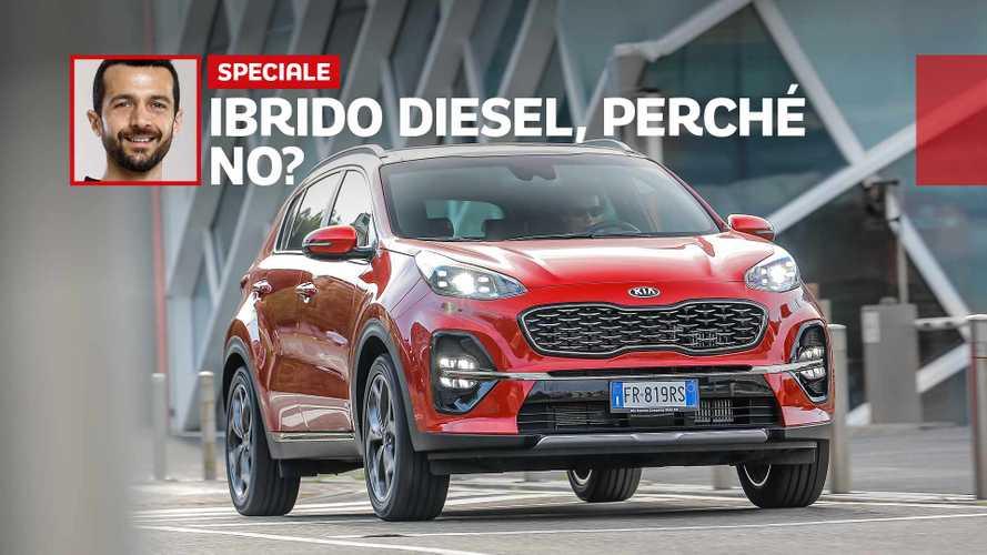 Kia Sportage 2.0 CRDI: elettrico e diesel, l'abbinamento convince