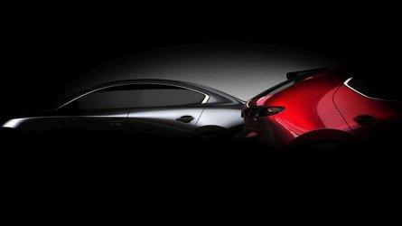 La nouvelle Mazda3 pointe le bout de son nez