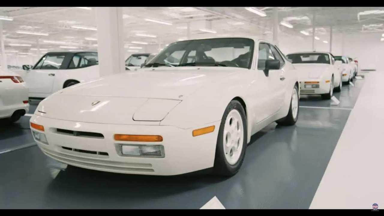 Porsche white collection