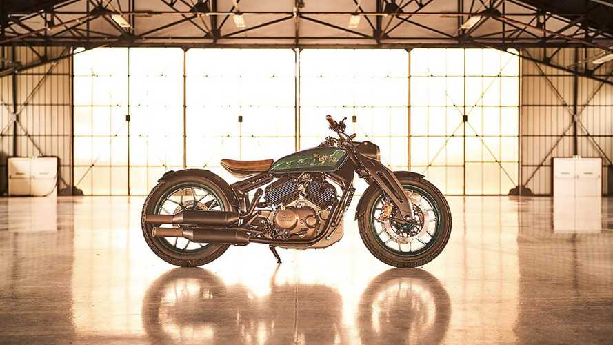 Royal Enfield KX Bobber Concept Could Be Named Meteor