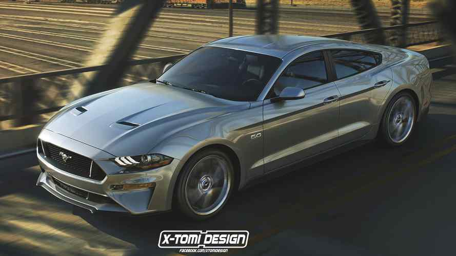 Not into SUVs? Ford allegedly planning V8 four-door Mustang
