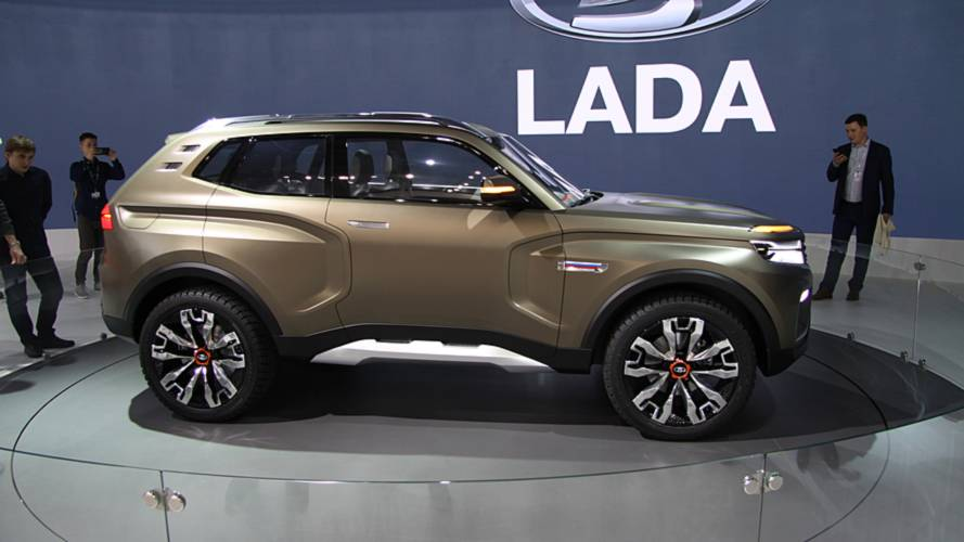 Lada 4x4 Vision Concept previews next-gen Niva offroader