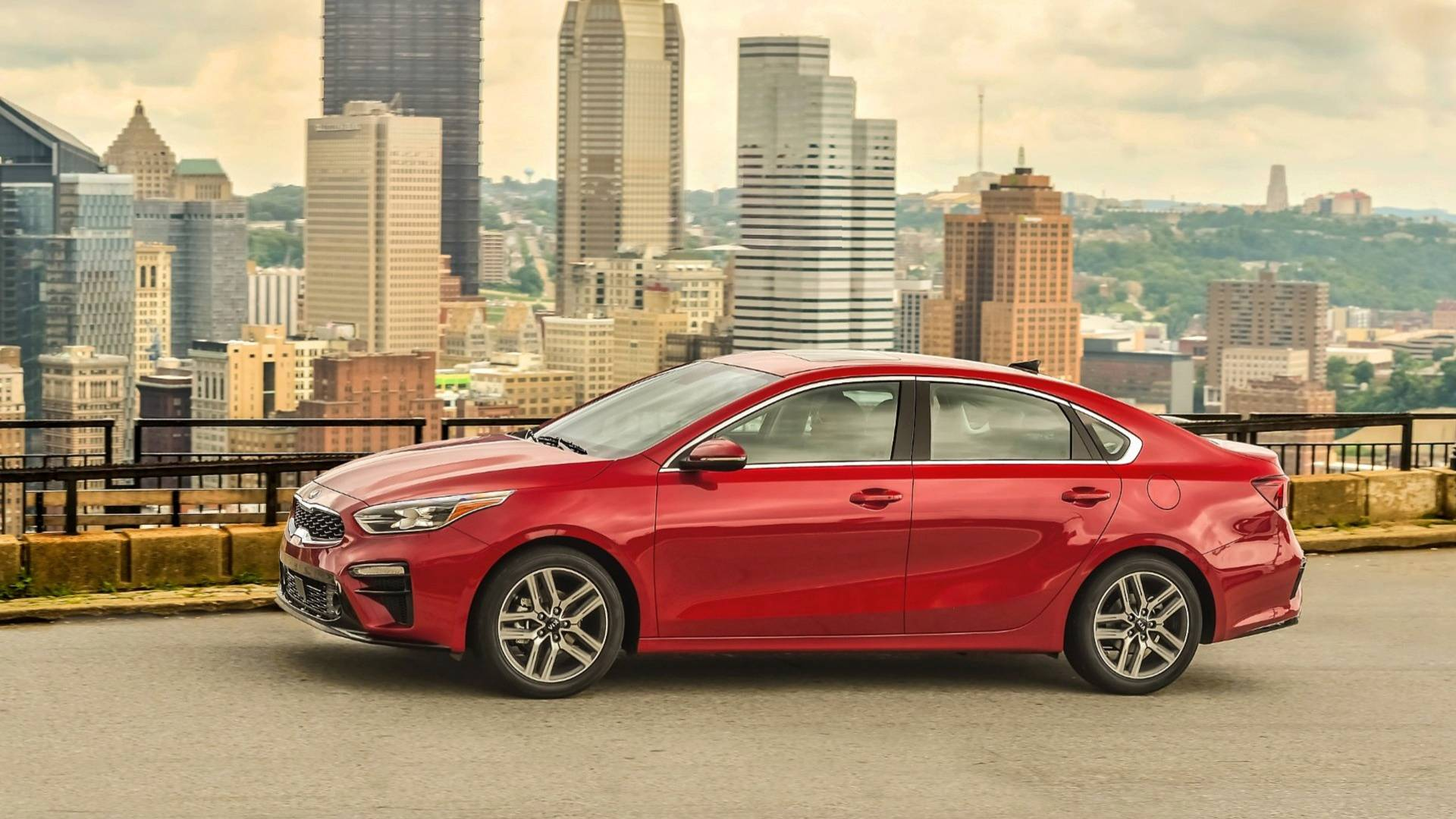 2019 Kia Forte Plays A Game Of Chicken With Its Race Car Sibling