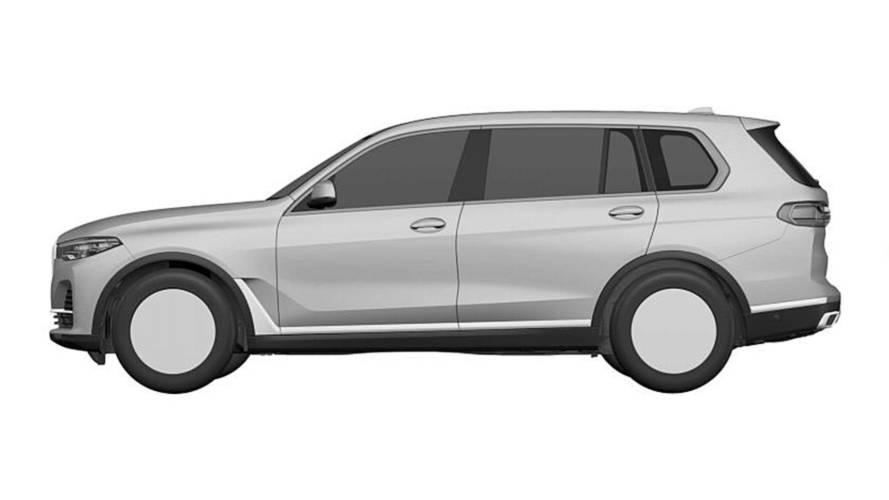 BMW X7 Patent Görselleri