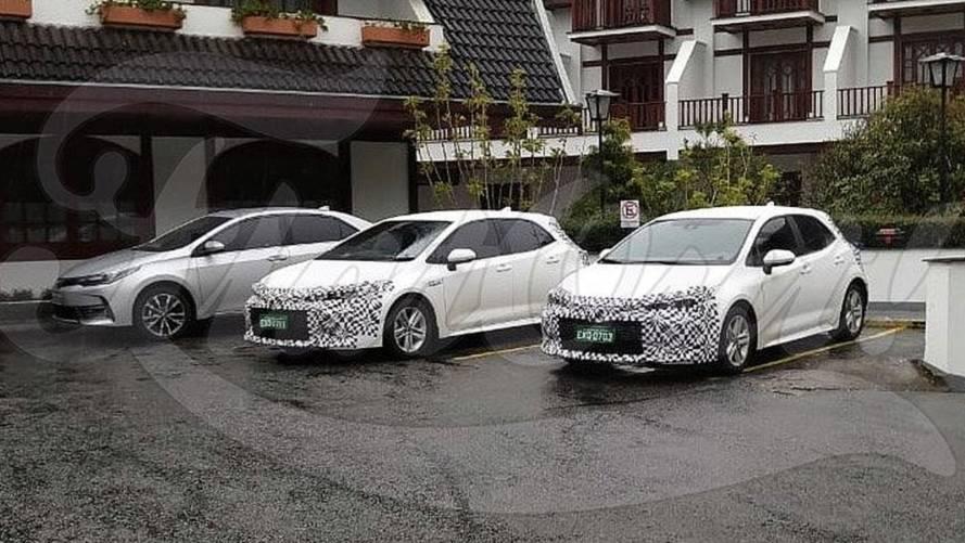 Flagra! Novo Toyota Corolla é testado no Brasil na versão hatch