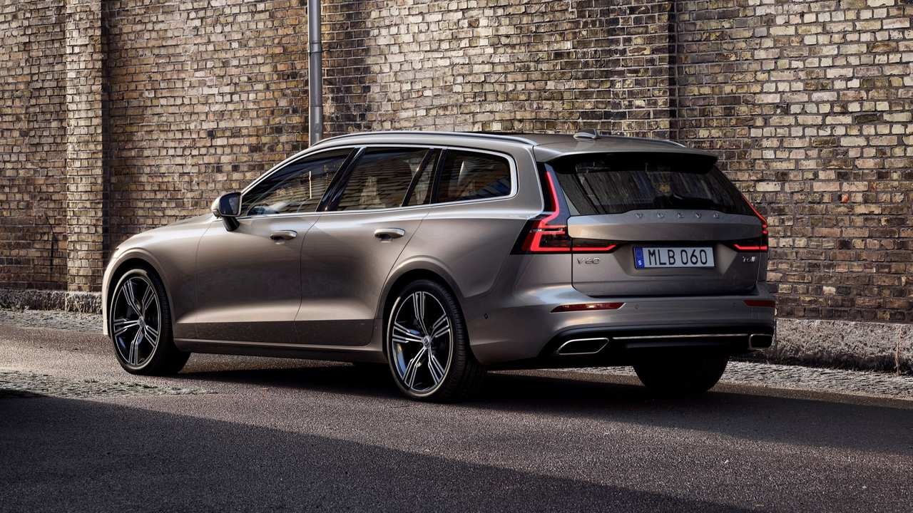 2019 Volvo V60: First Drive
