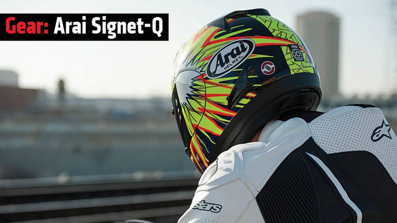Gear: Arai Signet-Q Helmet