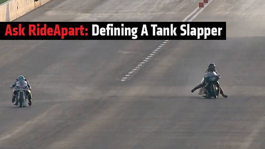 Ask RideApart: Defining a Tank Slapper