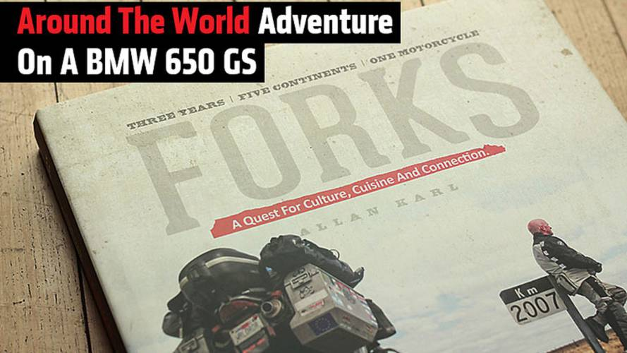 Around The World Adventure On A BMW 650 GS