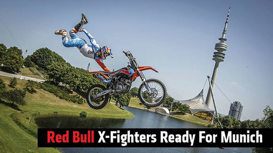 Red Bull X-Fighters Ready For Munich