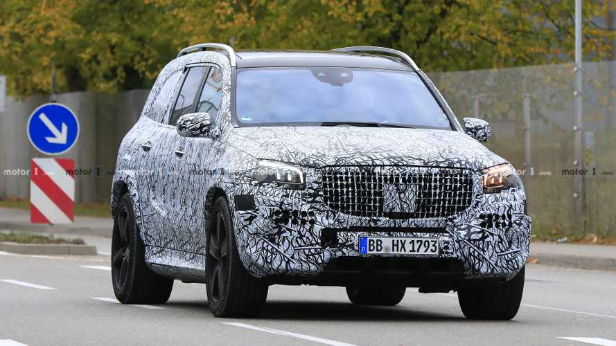 Mercedes-Maybach GLS photos espion