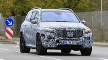 Mercedes-Maybach GLS spy photos