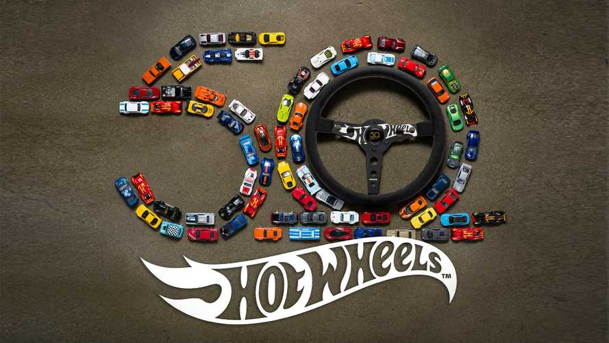 Momo Made Limited Edition Steering Wheel For Hot Wheels' 50th Year