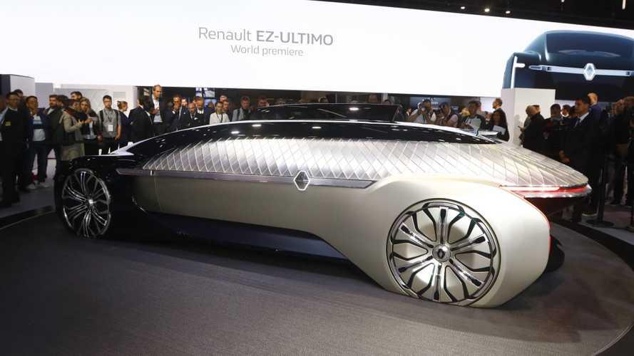 Renault EZ-Ultimo Concept Previews Premium Autonomous Mobility