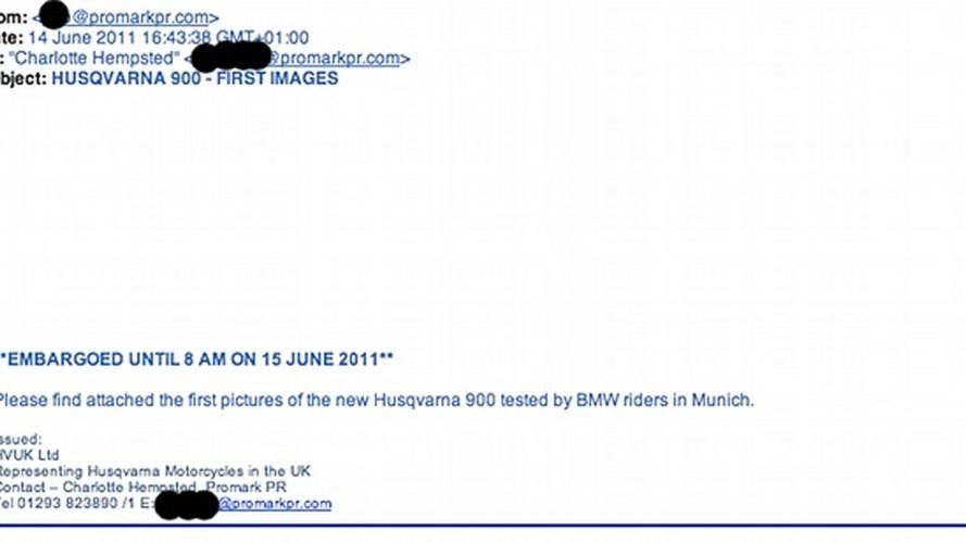 Spy Photos: Husqvarna's new street bike