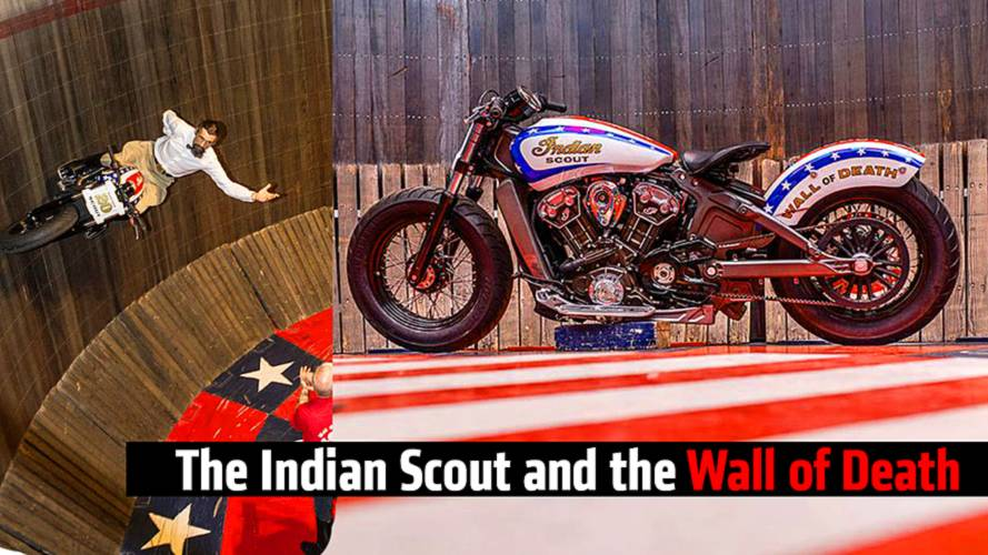 The Indian Scout and the Wall of Death