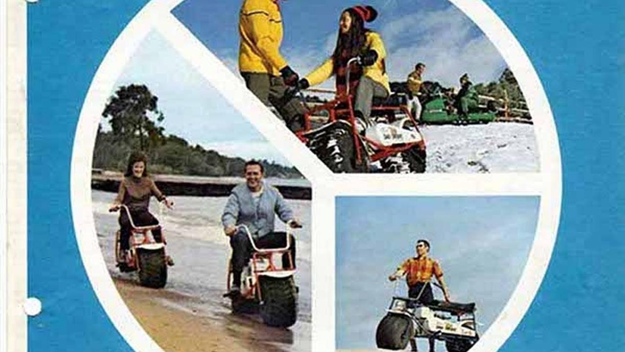 Retro: El Burro sand n sno bike