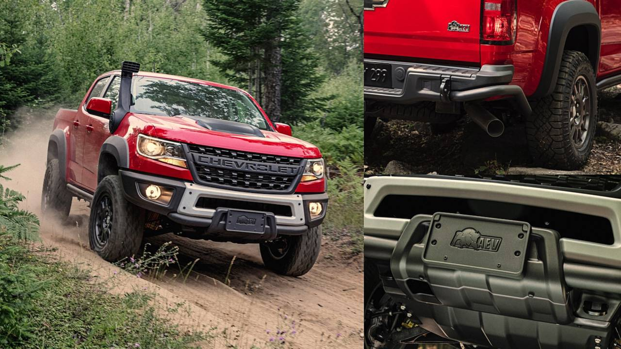 Here S The Beef 5 Rugged Features Of The Chevy Colorado Zr2 Bison