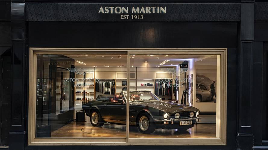 Aston Martin's classic models get dedicated Mayfair showroom