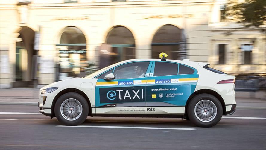 Jaguar I-Pace: Taxiflotte in München