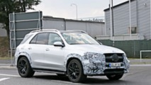 Mercedes-AMG GLE 53 spy photos