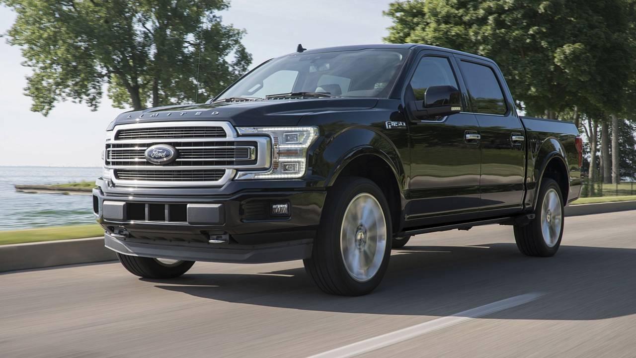 1. Ford F-Series: 909,330 units