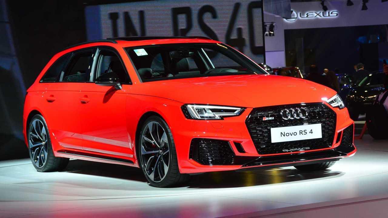 Salão de SP: Audi A6, A7, A8 e RS4 Avant