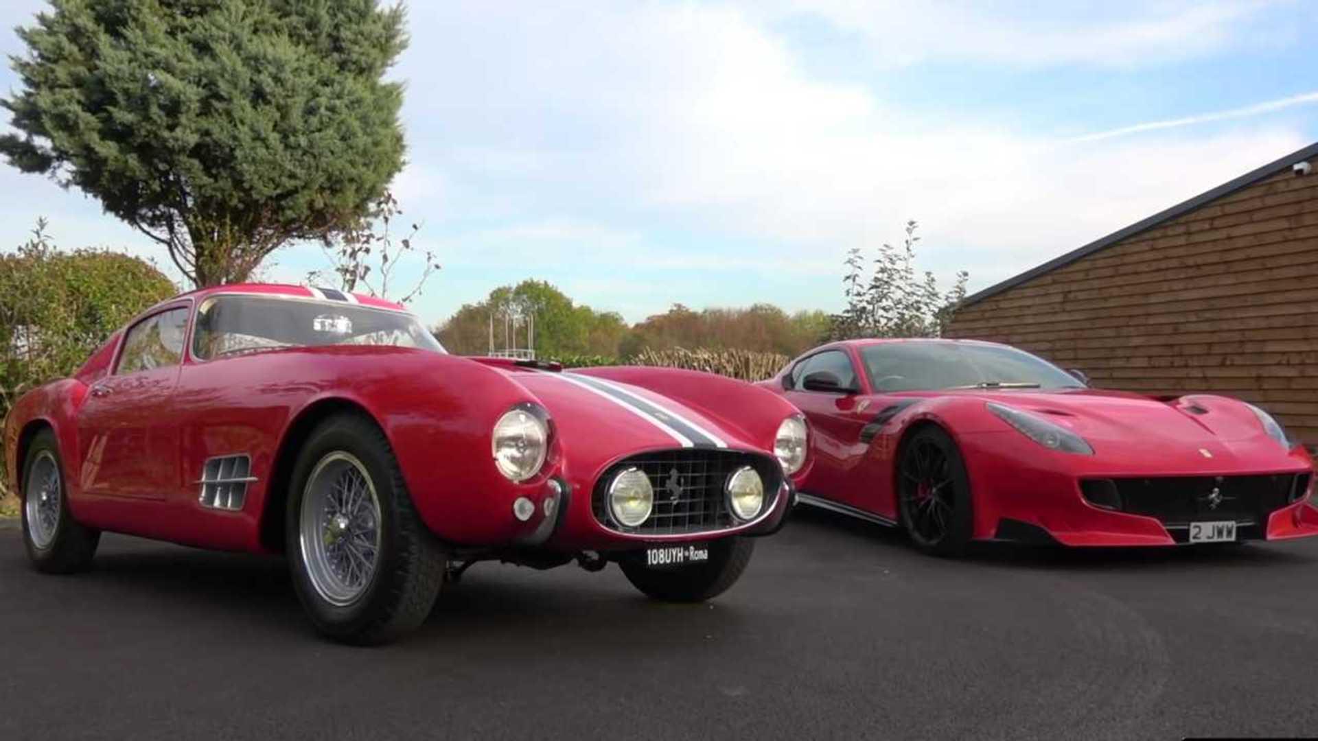 See Ferrari F12tdf Meet The Original Tour De France