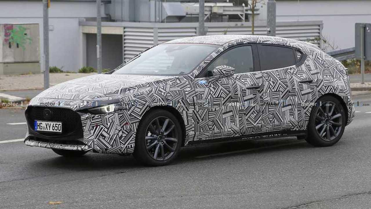 Fotos espía Mazda3 2019