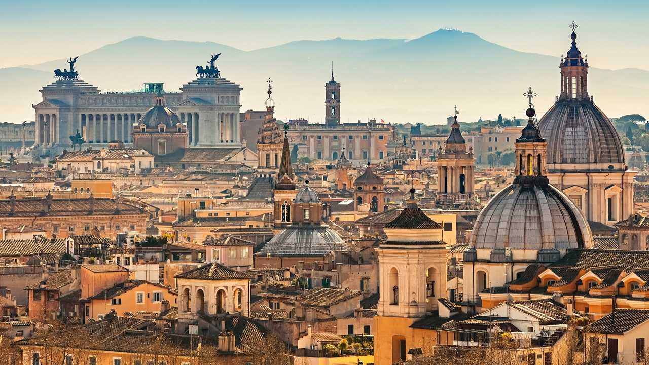 Roma blocco traffico