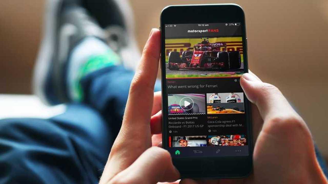 Motorsport Fans Uygulaması