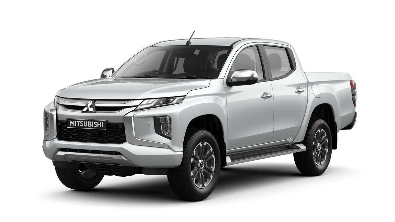 2019 mitsubishi l200 triton goes official with bold design. Black Bedroom Furniture Sets. Home Design Ideas