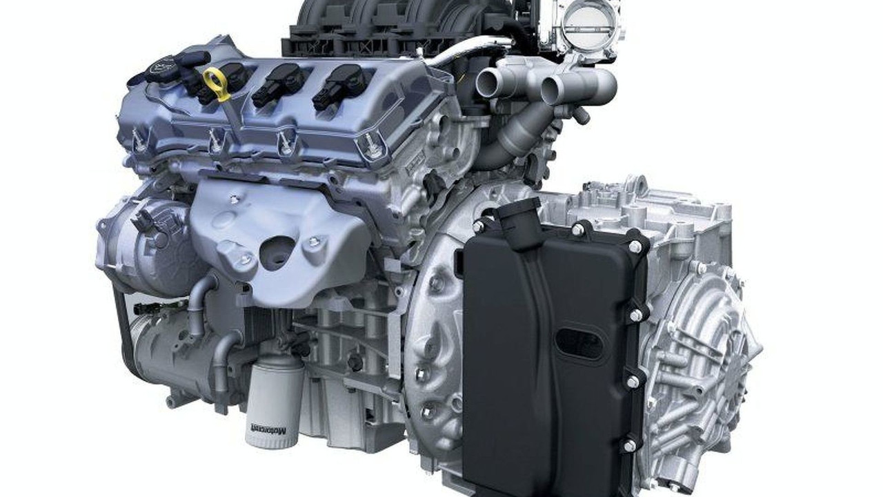 Ford D35 Engine-Transmission | Motor1.com Photos