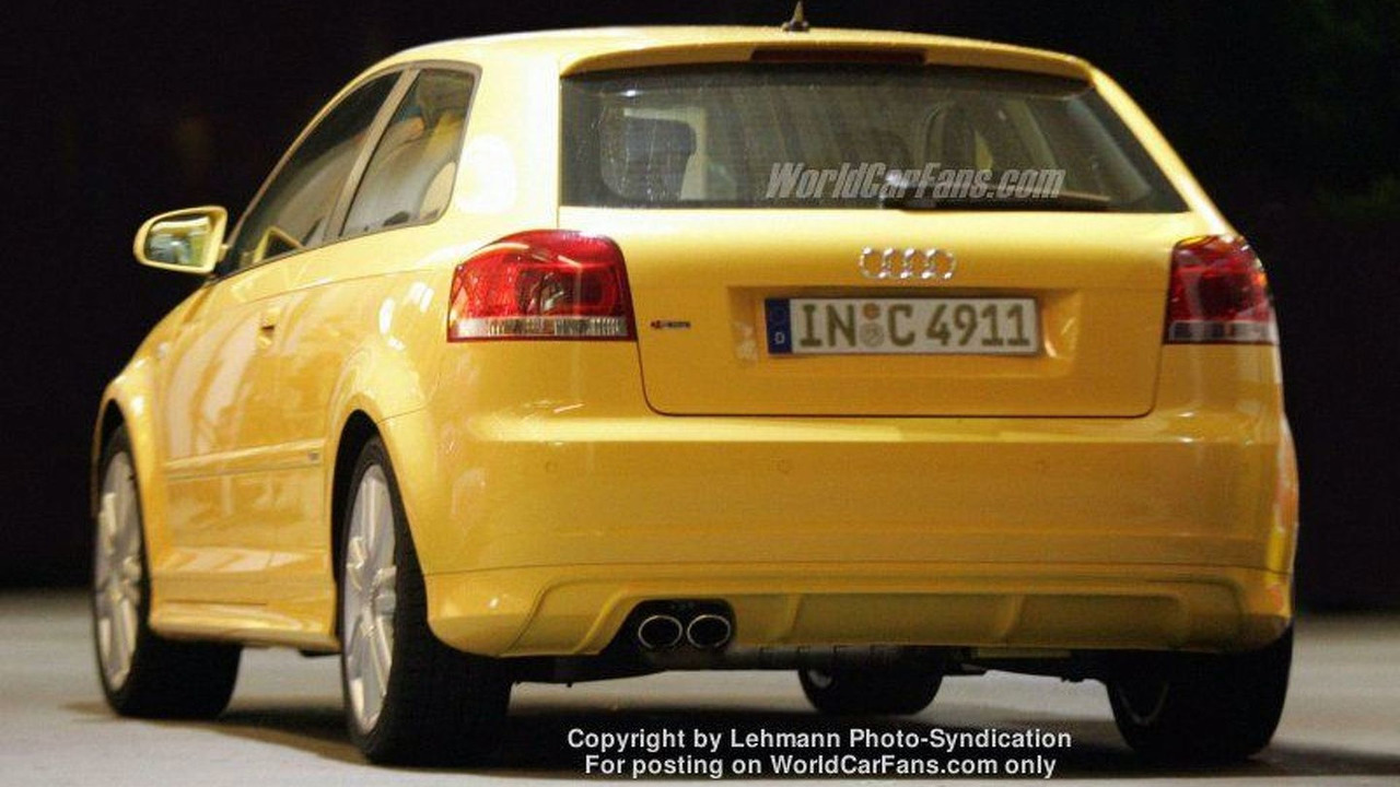 Spy Photos: Audi S3 Uncovered