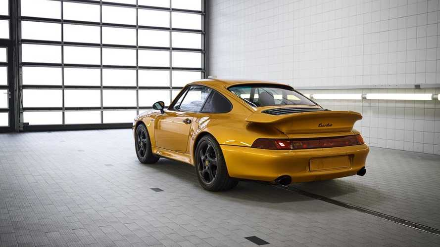 'Project Gold' Porsche becomes most expensive 993 Turbo ever