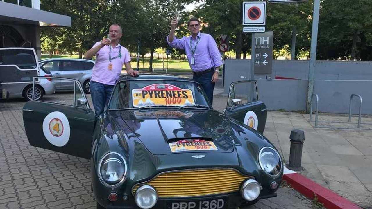 Aston Martin DB5 wins Pyrenees 1000 rally