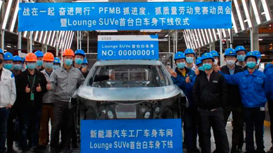 Большой электрокроссовер Volkswagen начали собирать в Китае