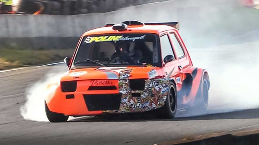 Little Car, Big Fun: This Fiat Racer Uses A CBR1000 Engine